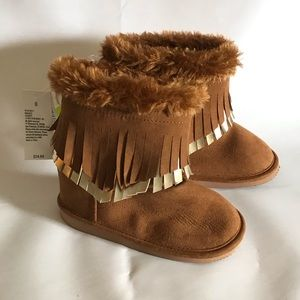 Crazy 8 Brown Pocahontas Booties
